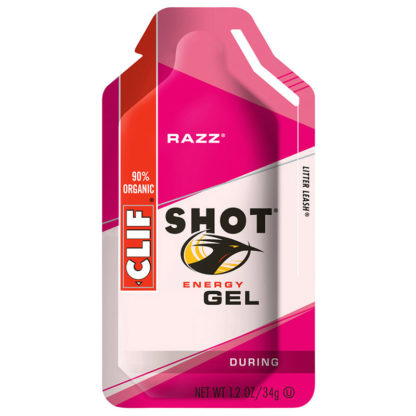 CLIF SHOT Energy Gel Razz