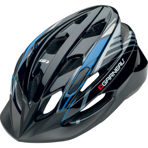 Louis Garneau Nino Helmet in Black/Blue