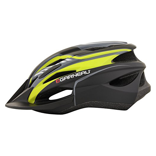 Louis Garneeau Razz Helmet in Black/Yellow