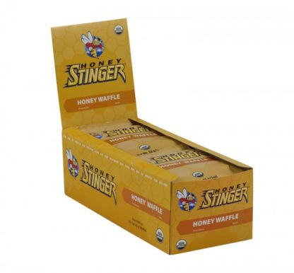 Honey Stinger Organic Honey Waffles | Box of 16 Waffles