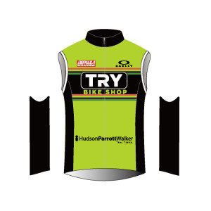 Depaula Racing Team Cycling Vest 2016 (Front View)