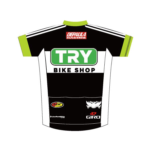 Depaula Racing Team Jersey 2016 (Back View)
