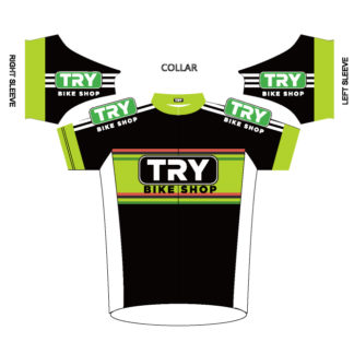 TRY Bike Shop Cycling Jersey 2016 (Front View)
